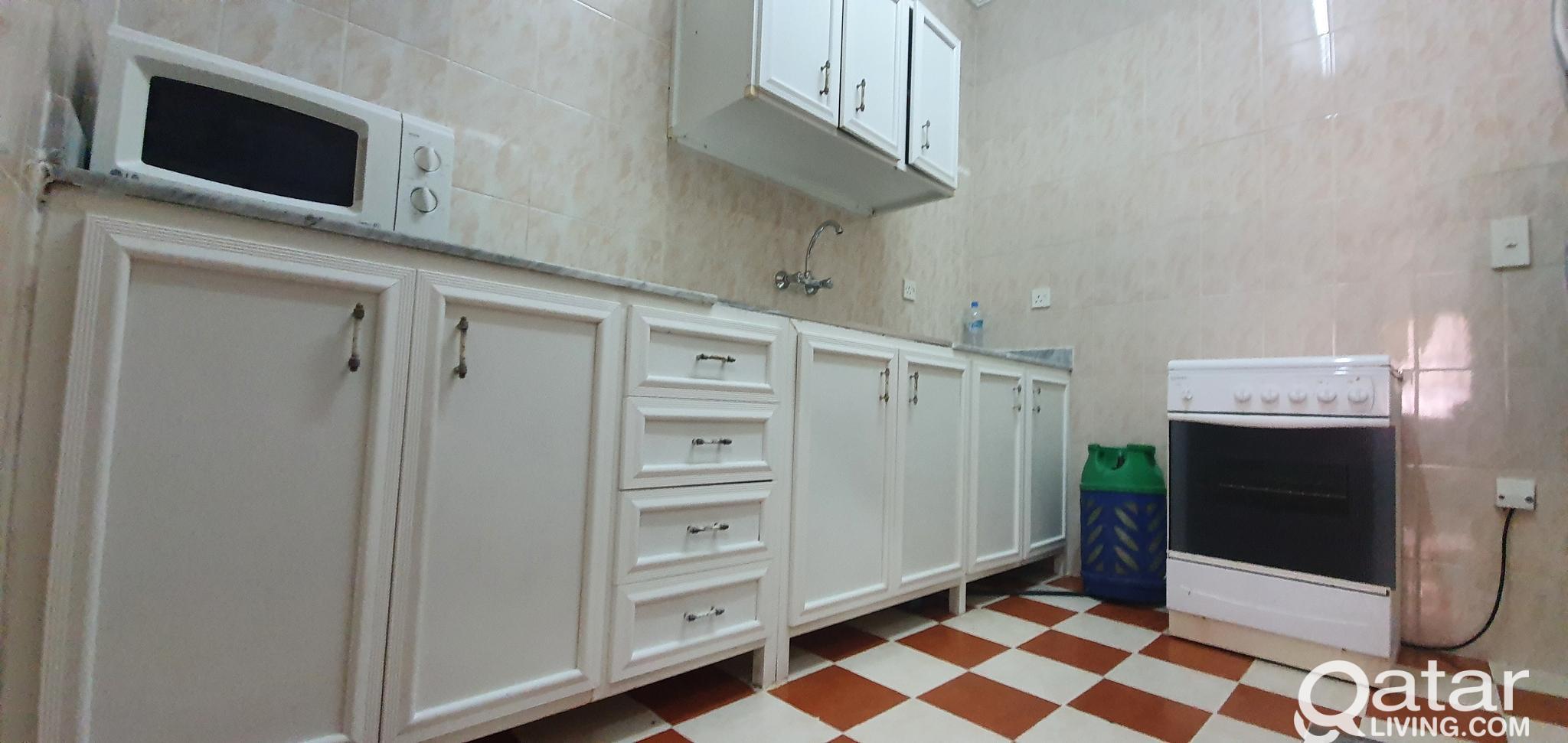 *No Commission* 1BHK F/F Apartments, Musheirib nea