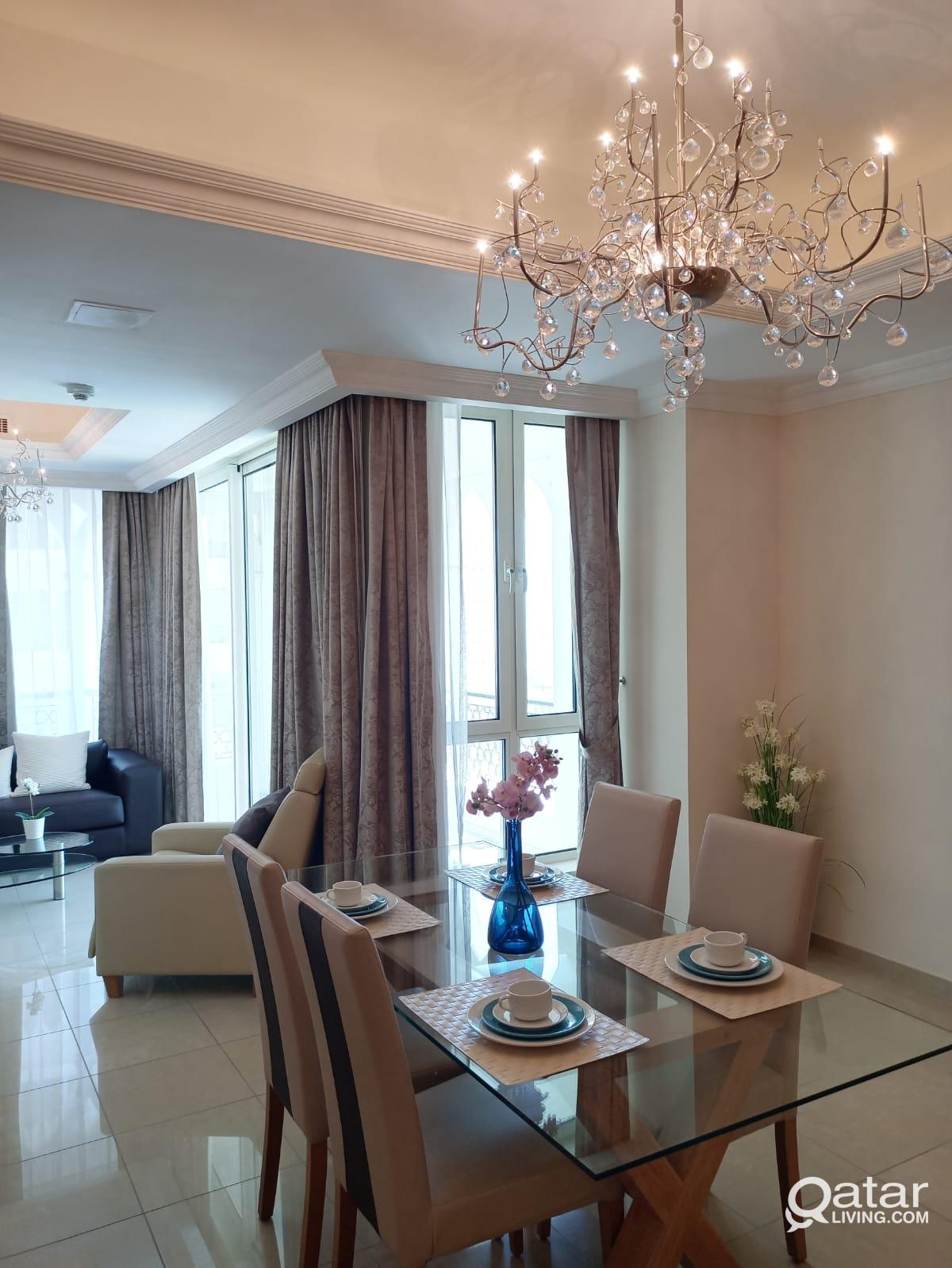 2BHK FF with Balcony! Marina View