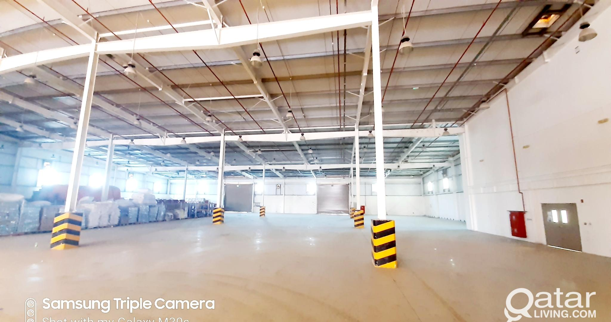 400 SQM STORAGE SPACE FOR RENT IN NEW INDUSTRIAL A