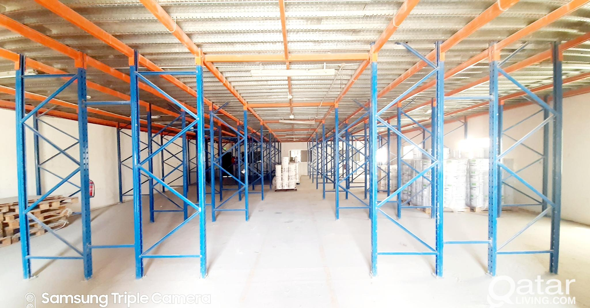 550 SQM STORE WITH OFFICE FOR RENT IN INDUSTRIAL A