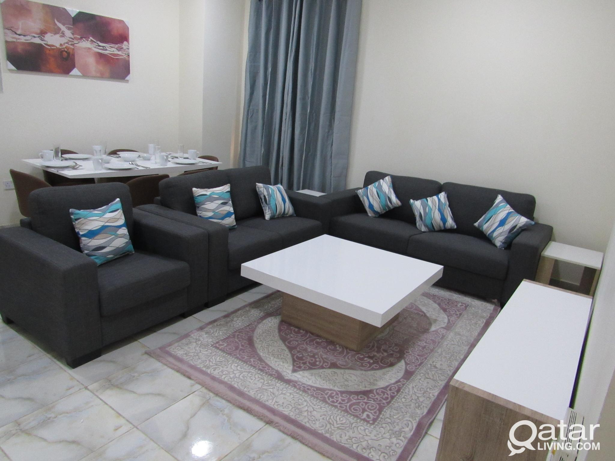 Brand new Furnished apartments in Al-Sadd area