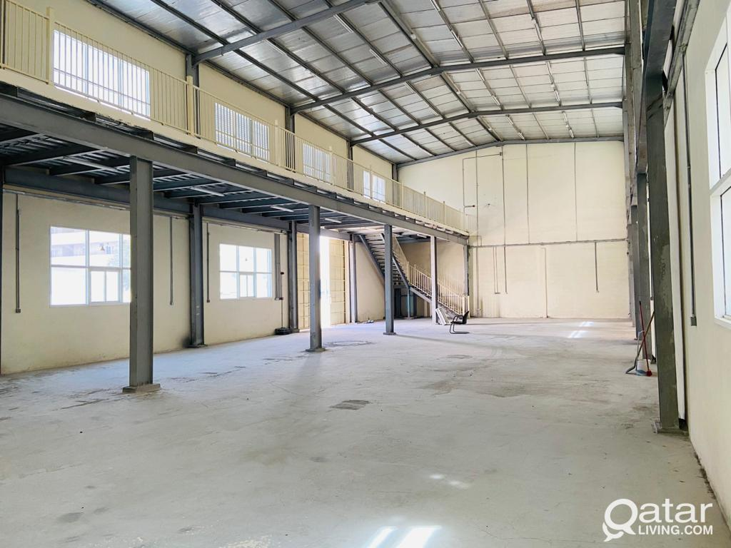 600 sqmr Store and 12 Room For Rent