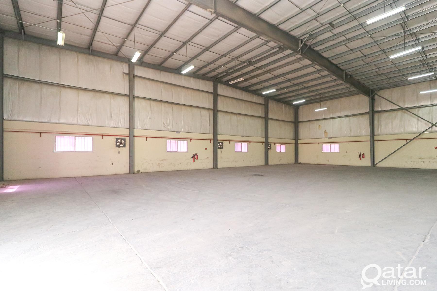 1500 Sqm General Warehouse in Industrial Area