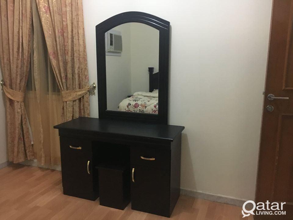 FOR NPEALI -1 BED ROOM FOR RENT AT UMM GHUWAILINA