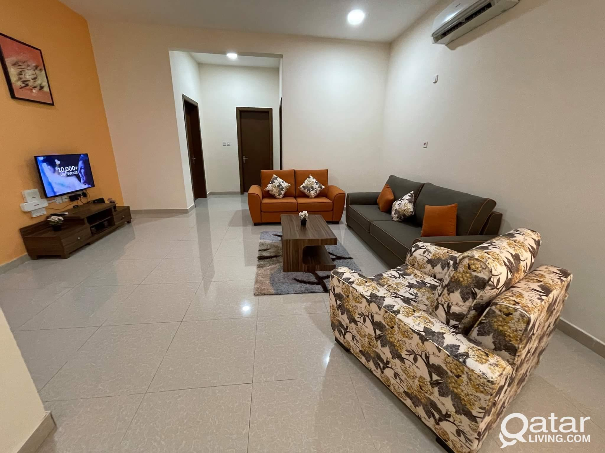 FULLY FURNISHED 2BHK FOR RENT IN AL THUMAMA ( NEAR