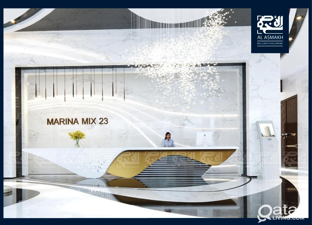 Invest Off-Plan, Furnished 1-BDR Apt Lusail Marina