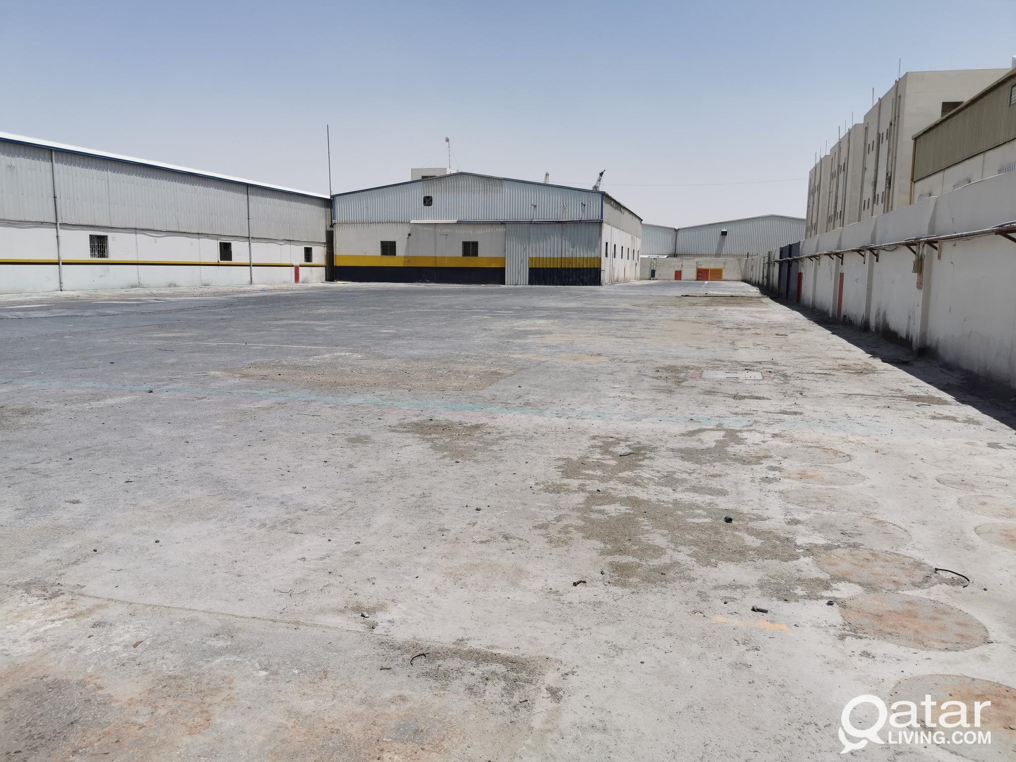3400 sqm GARAGE FOR RENT