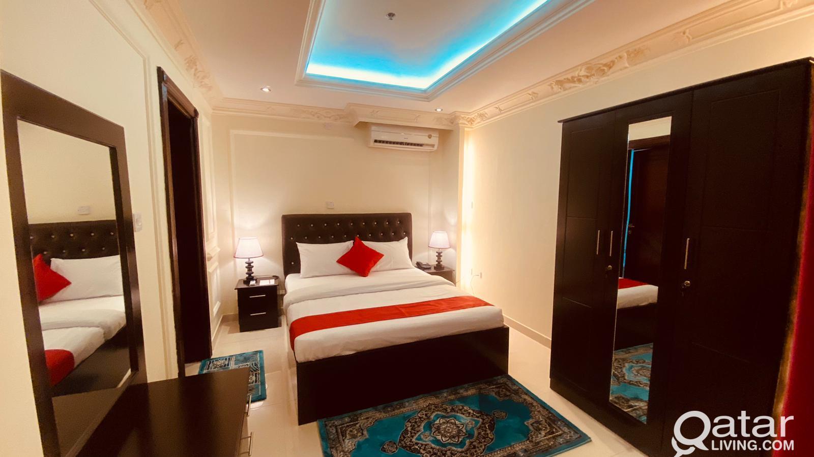Offering F/F 1BHK Apartment Flat at Old Al Ghanim