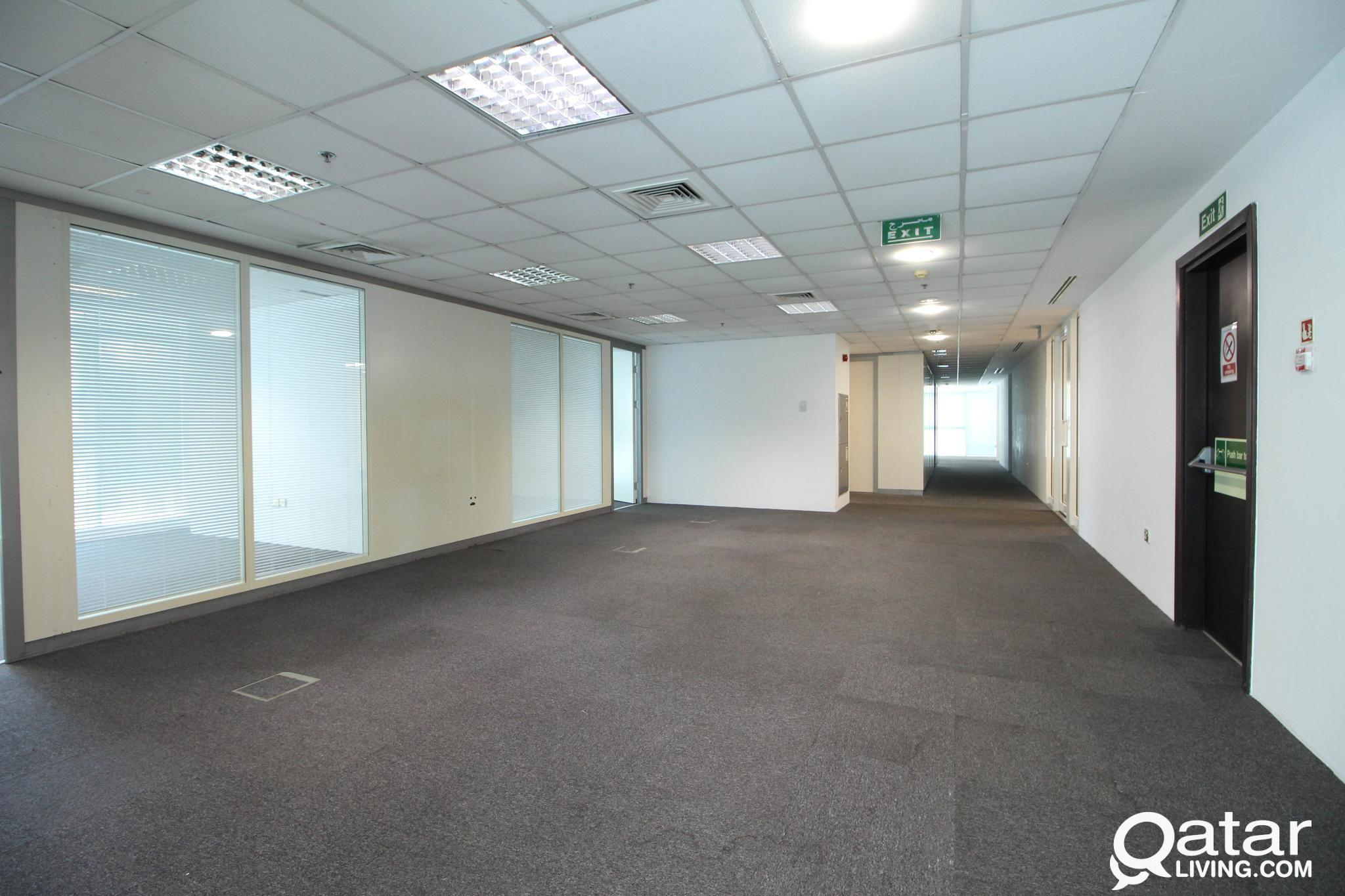 150 Sqm,375 Sqm and 750 Sqm Full and Quarter Floor