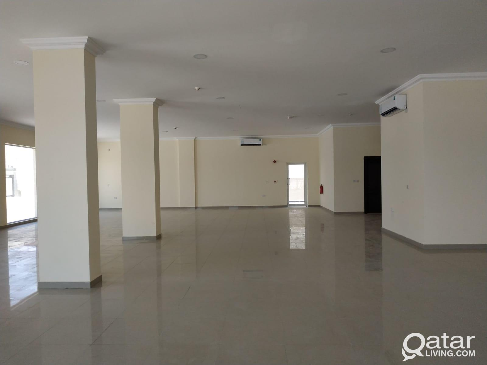 BRAND NEW  SPACIOUS RETAIL SPACE (SHOPS) AVAILABLE