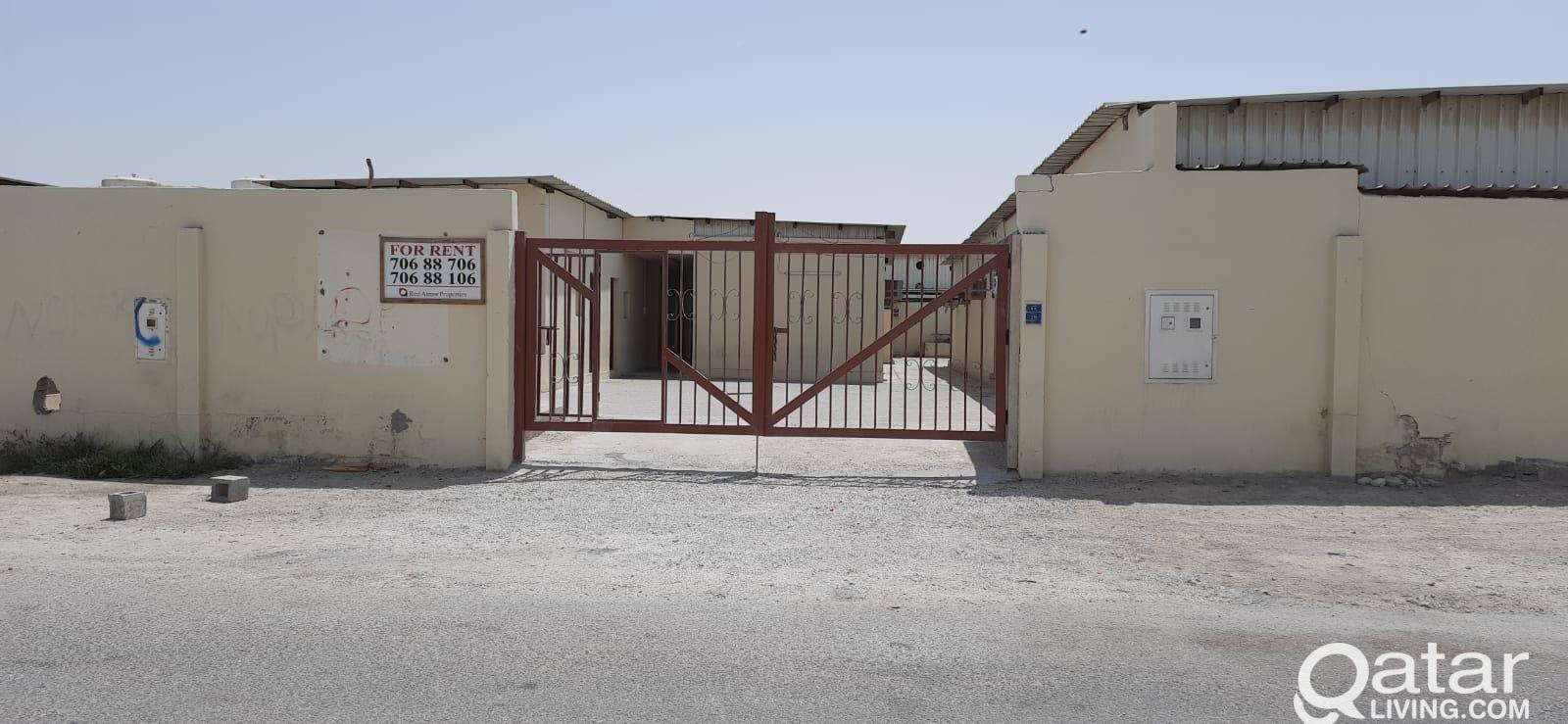 23 ROOMS LABOUR CAMP FOR RENT - Al Khor Industrial