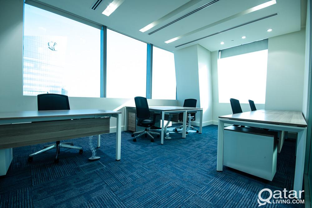 Luxury Serviced Offices in Lusail