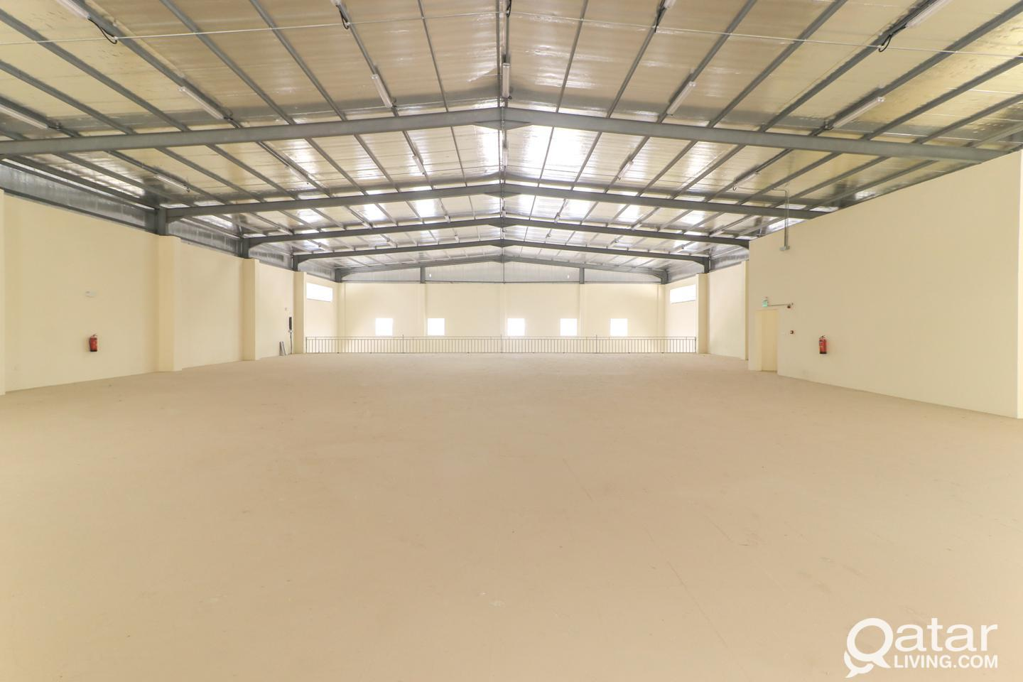 2000sqm Brand New Warehouse at Industrial Area