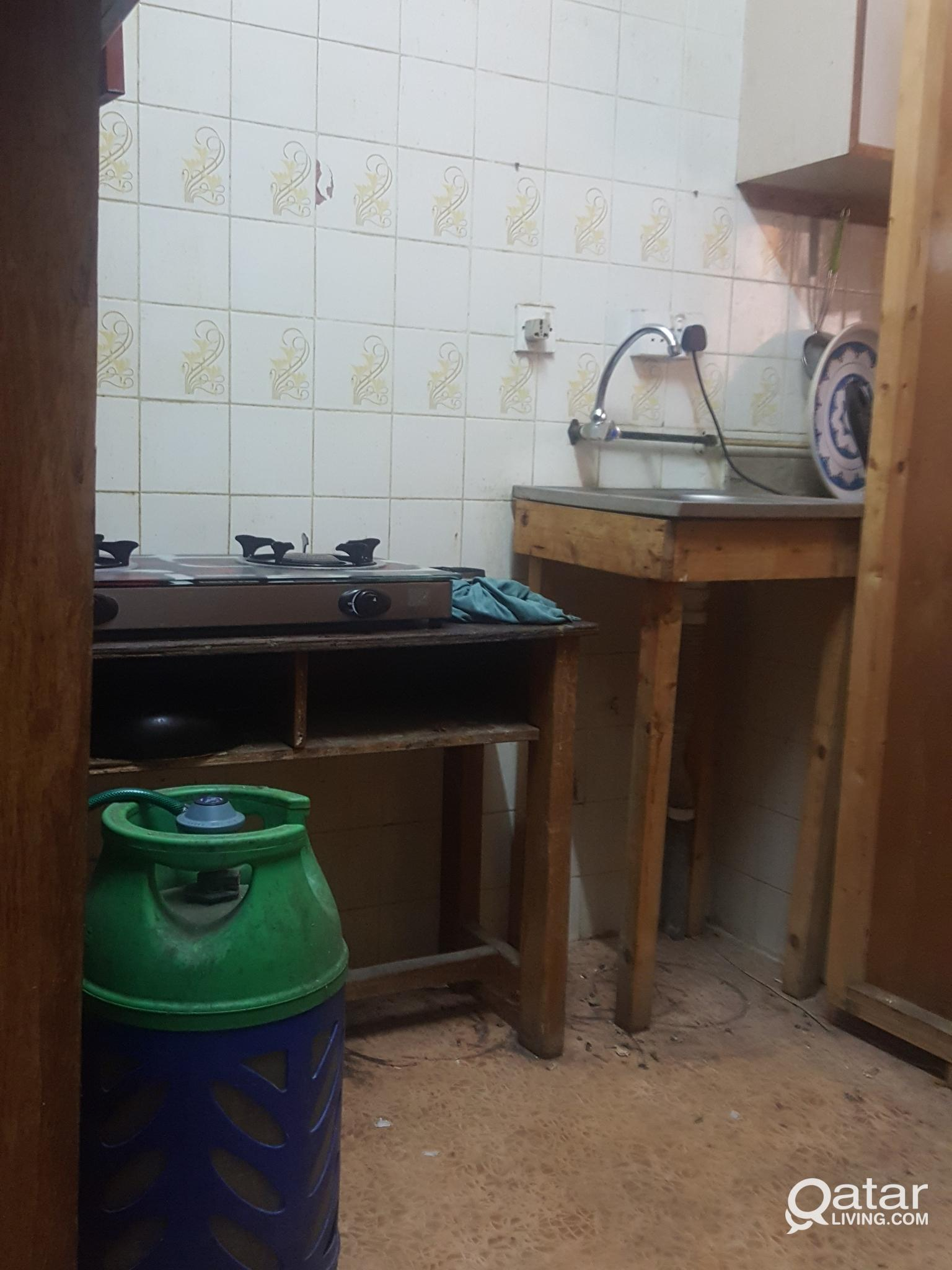 One room with shared kitchen and bathroom availabl