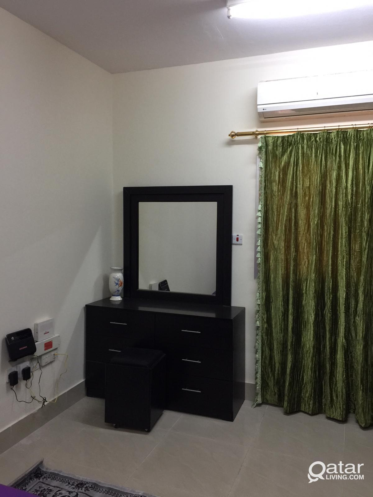 Fully furnished bedroom available from 1st Novembe