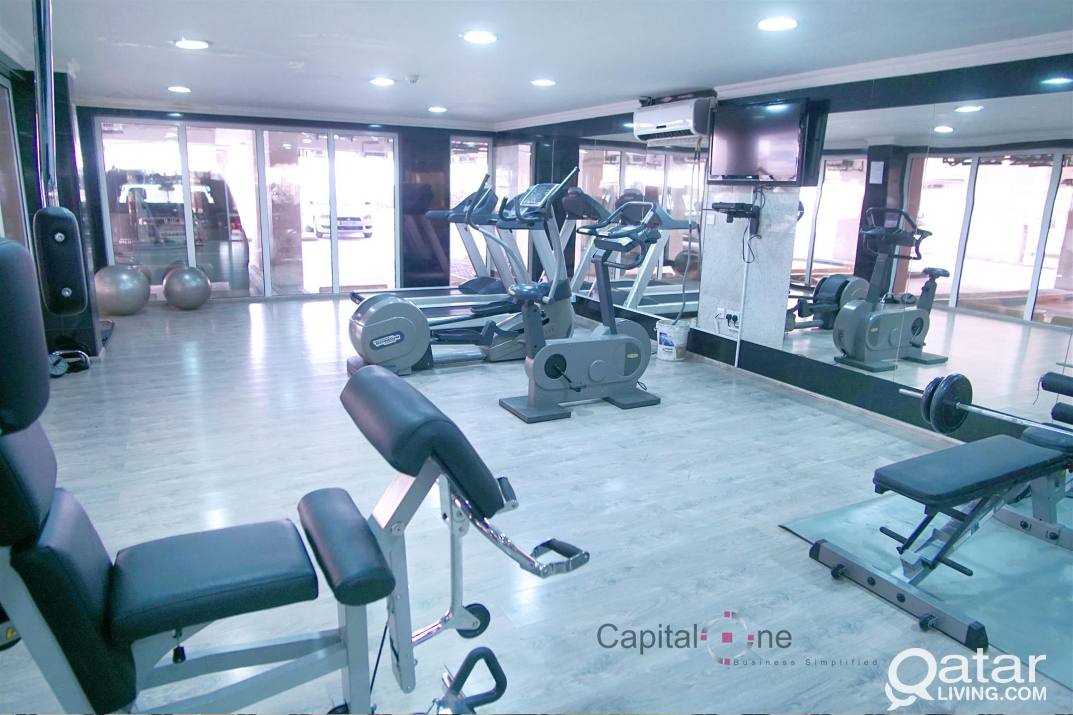 Spacious U/F 3BHK Flats w/ GYM (Separate Male & Fe