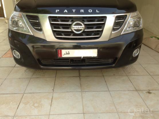 Nissan Patrol Chrome Grille + Bumper + Fog Lights