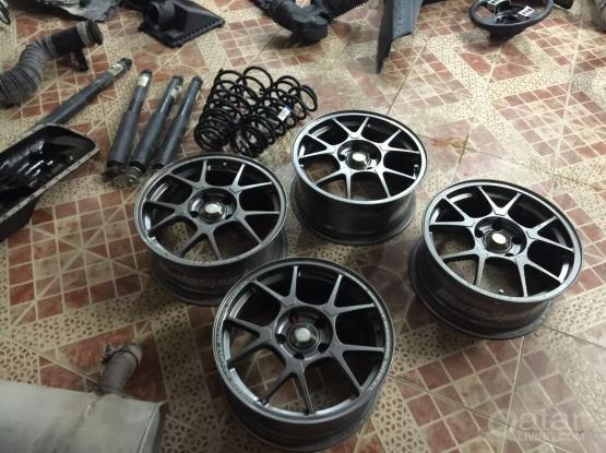 16 inch sports light weight rims made in japan