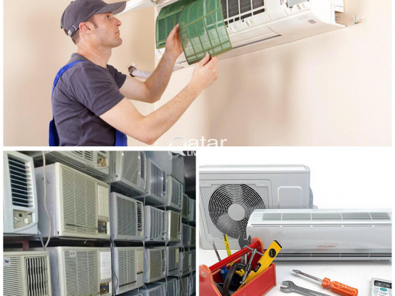 WINDOW & SPLIT USED A/C FOR SALE & FIXING AND MAINTENANCE 66343689