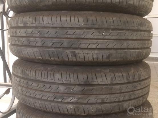 Bridgestone Tyre R15 4 Holes
