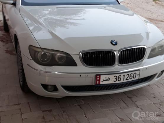 BMW 7-Series 740 Li 2007