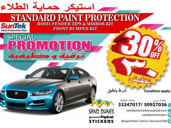 Paint Protection promotion