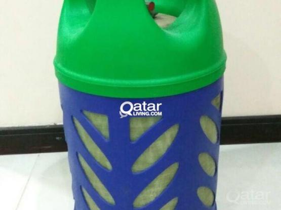 Woqod Plastic Empty cylinder