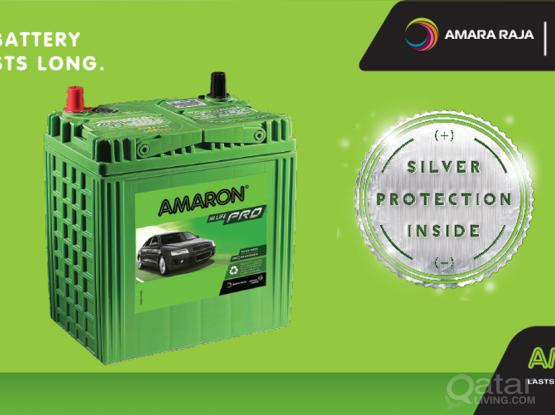AMARON BATTERY FOR CAR