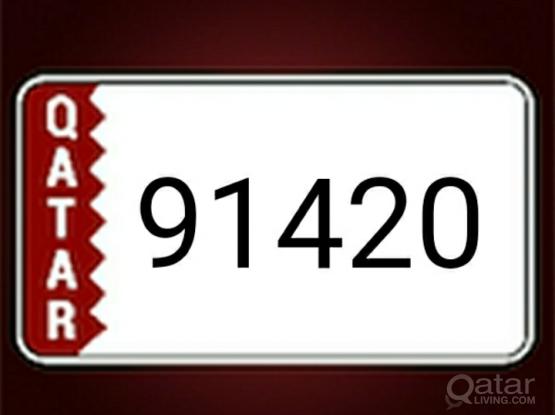 5 digits  91420