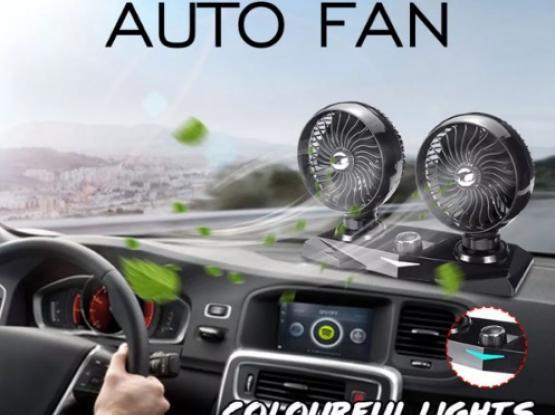 Car cigarette lighter 12 V Mini Auto Air Cooling Car Fan Dual.