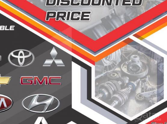 Spare Parts Available- Discount Price