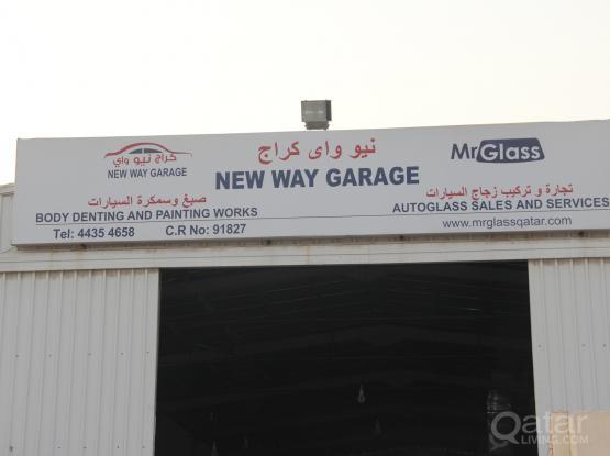 NEW WAY GARAGE- AUTO GLASS GARAGE