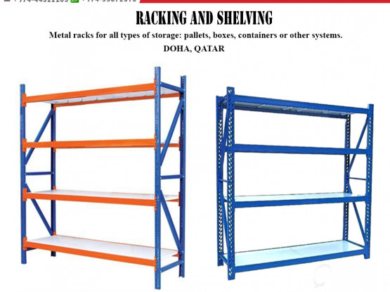 Shelving with installation
