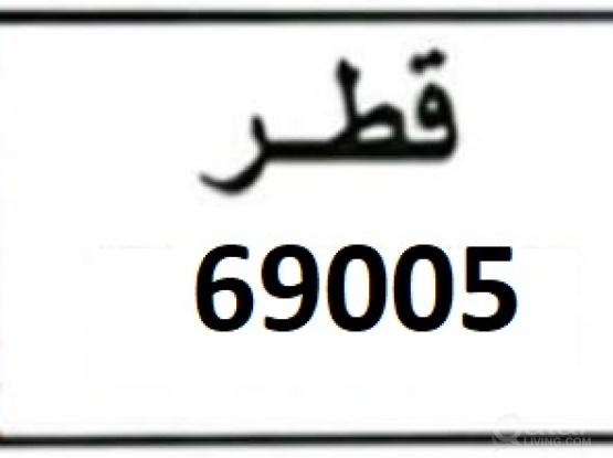 Car fancy plate number for sale 69005