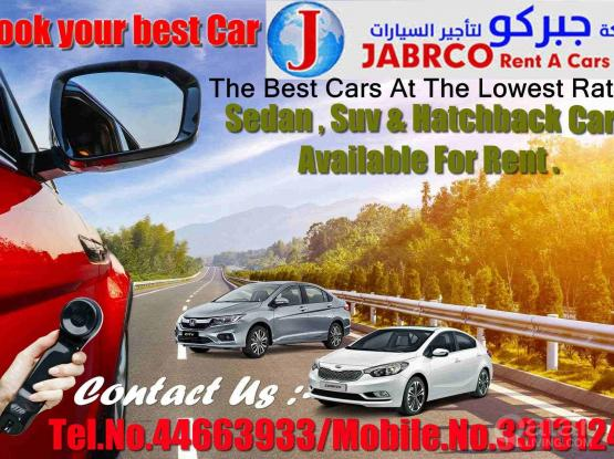 Book Your Best Car !!! Lowest Price Guaranteed N !! Call Us Now:- 44663933 & 33131241