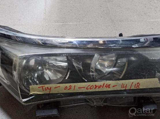 Toyota Corolla Head Light  -Model 2014-18
