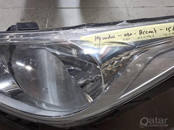 Hyundai Accent Head Light  -Model 2015-20