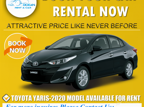 0KM -TOYOTA YARIS -2020 MODEL AVAILABLE FOR RENT ~44182020-50399151