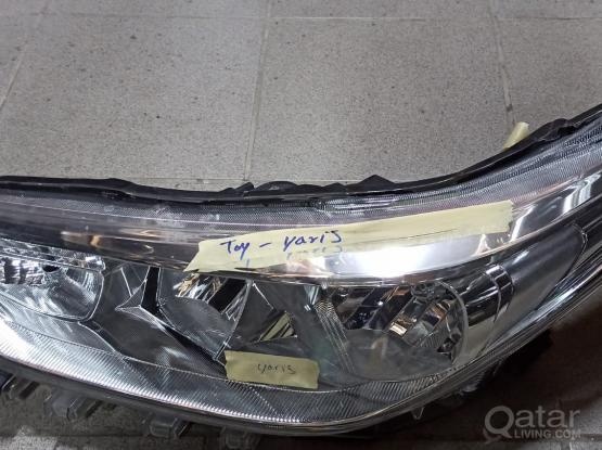 Toyota Yaris Head Light