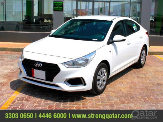 Hyundai Accent - Daily 75 QR / Monthly 1600 QR