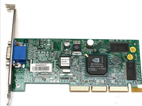 VGA GPU Card Nvidia Vanta 16 MB AGP
