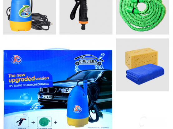 Potable car wash pump