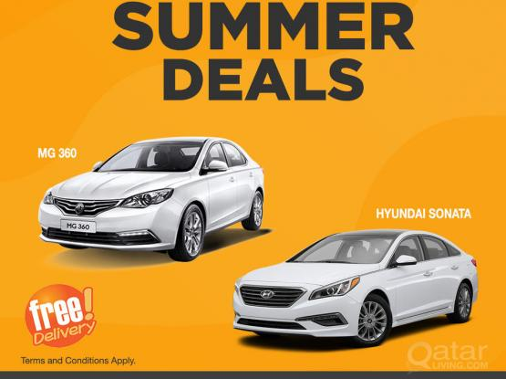 Sun-sational Summer Deals