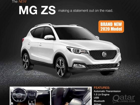 MG ZS 2020 AVAILABLE WITH BEST RENTAL