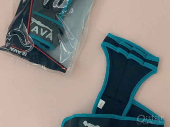 Training gloves two pieces each for 45  QR new