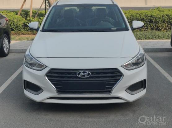 2020 Hyundai Accent for Rent.