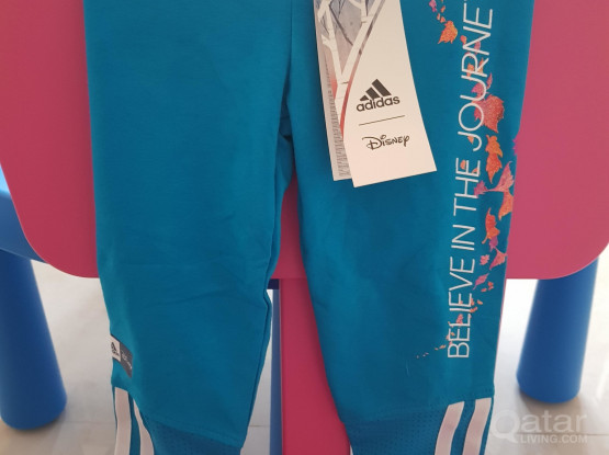 New Kids Adidas tights/leggings clothes - Disney Frozen edition