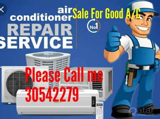 Used window ac for sale and repair call me 30542279