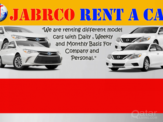 ANY SUV OR SEDAN CARS  FOR RENT ON DAILY&MONTHLY BASIS ,FOR BOOKING KINDLY CONTRACT 30177928