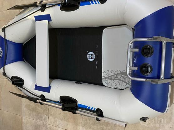 Inflatable Boat With 3.5 Hp Outboard Motor